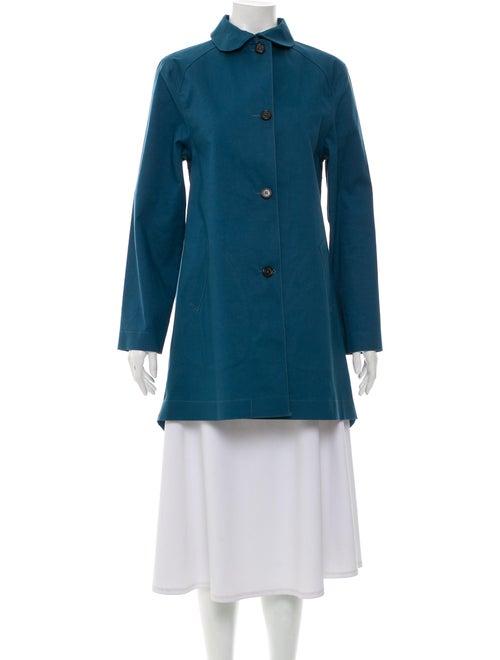 Hancock Knee-Length Peter Pan Collar Coat
