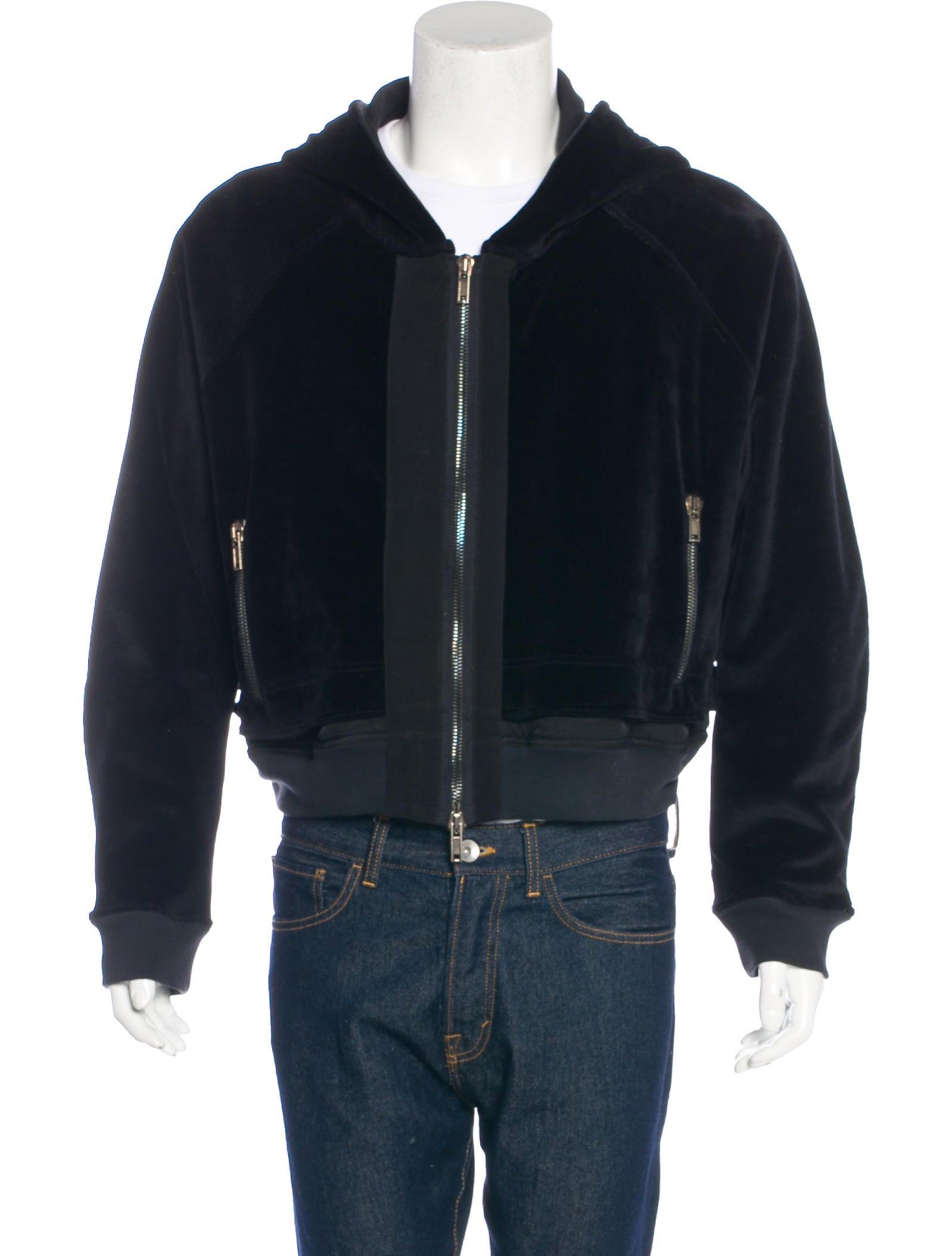 Velour pants and hoodie