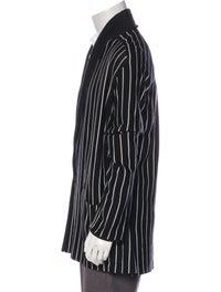 2018 Wool-Blend Striped Cardigan image 2