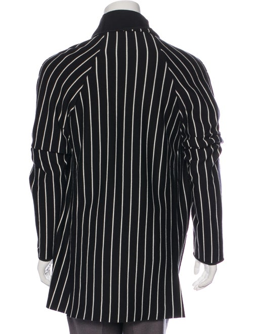 2018 Wool-Blend Striped Cardigan