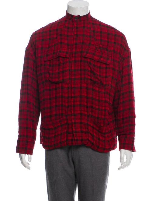 Haider Ackermann Oversize Wool-Blend Shirt Jacket