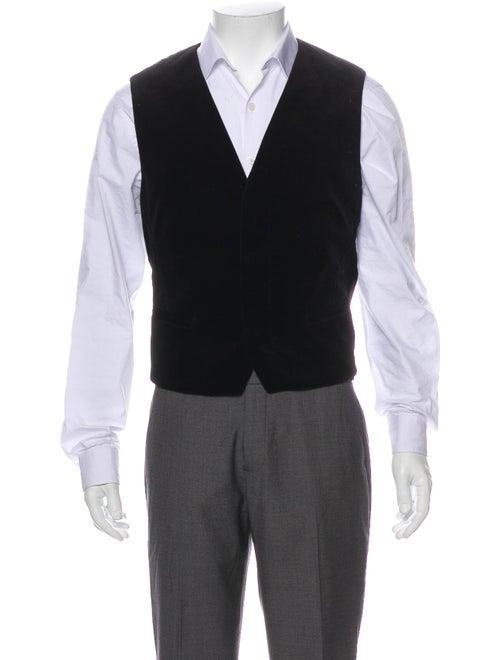 Haider Ackermann Velvet Suit Vest black