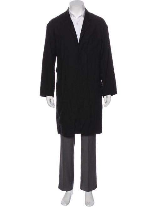 Haider Ackermann Overcoat Black