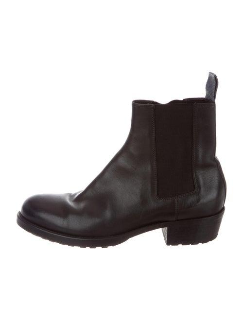 Haider Ackermann Leather Chelsea Boots Black
