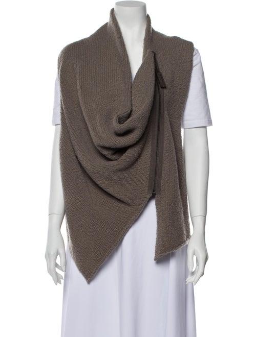 Haider Ackermann Wool Cowl Neck Sweater Wool