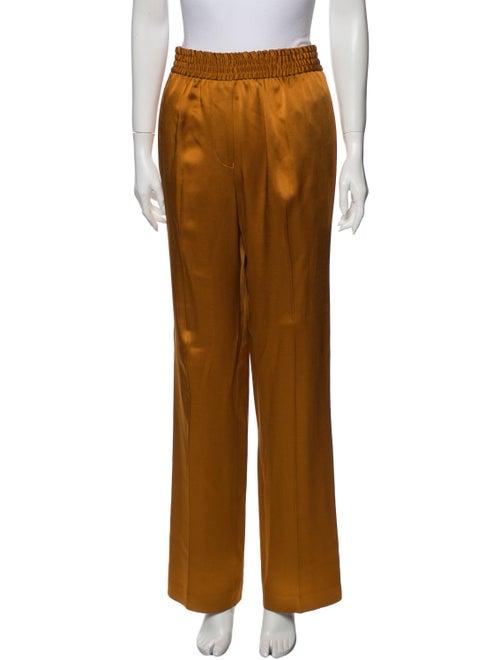 Haider Ackermann Wide Leg Pants Orange