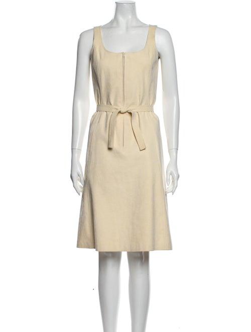 Halston 1970's Knee-Length Dress