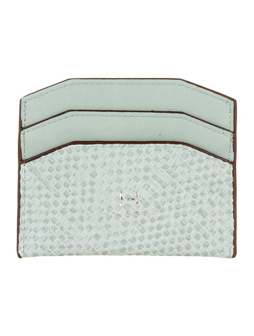 Halston Leather Cardholder Mint