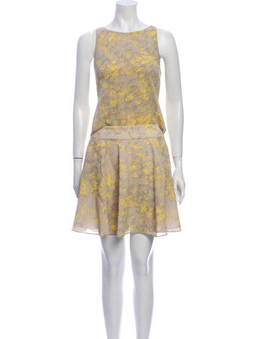 Halston Silk Mini Dress