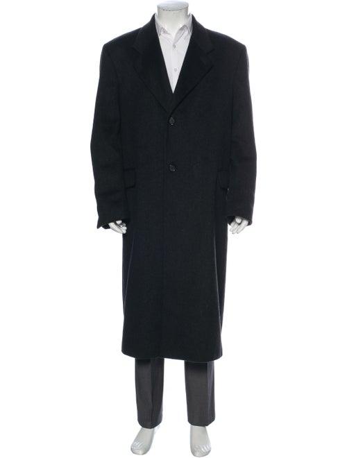 Halston Vintage Wool Overcoat Wool - image 1