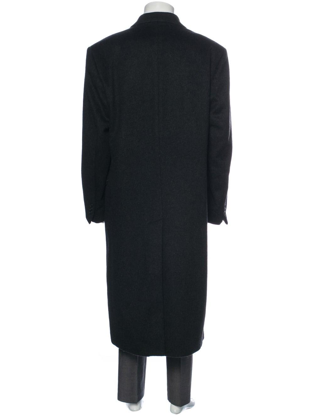 Halston Vintage Wool Overcoat Wool - image 3