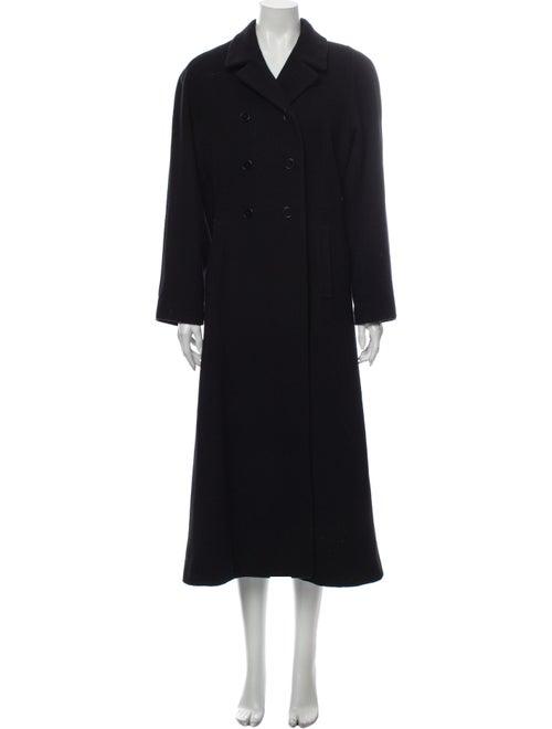 Halston Wool Coat Wool