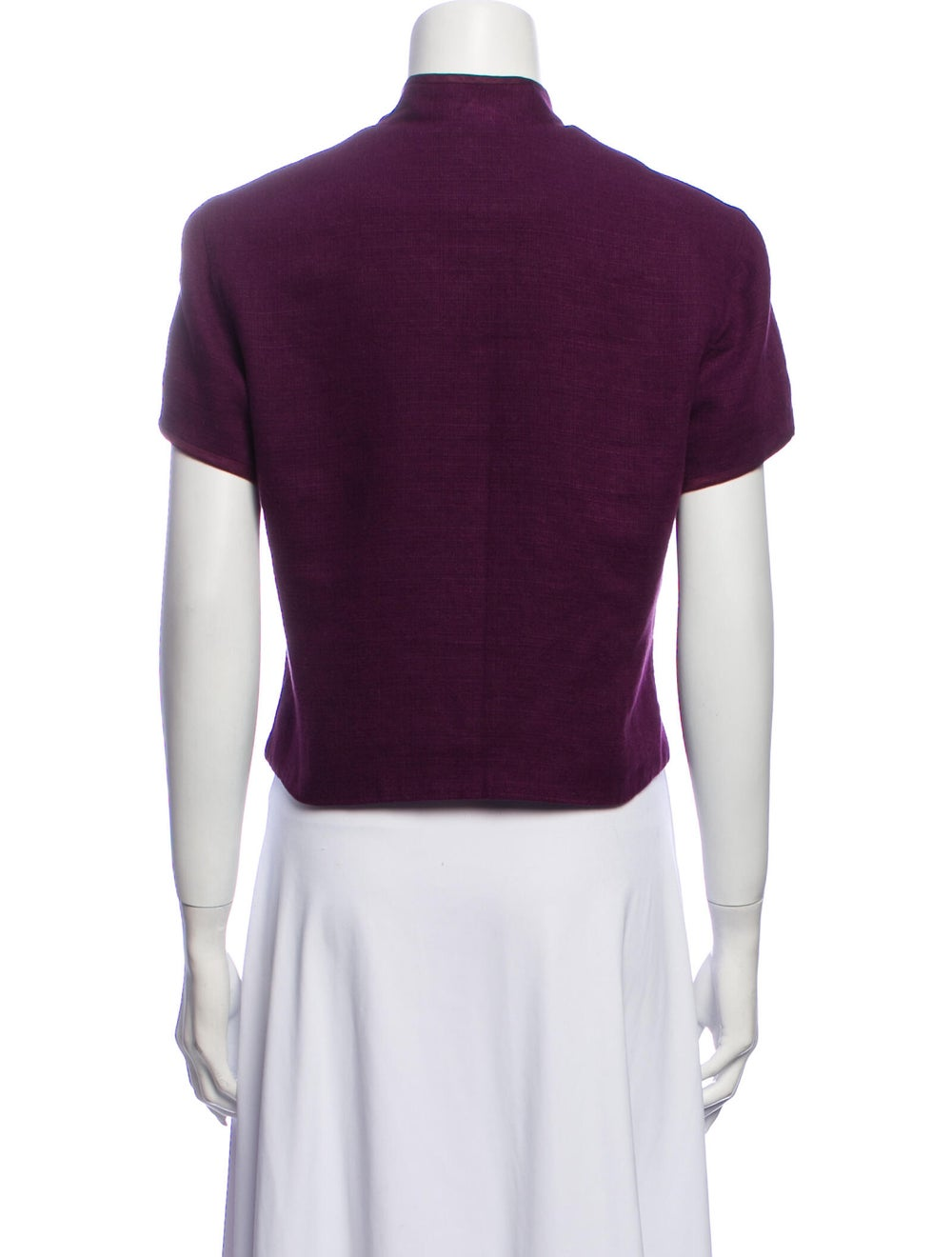 Halston Vintage Late 1990's - Early 2000's Crop T… - image 3