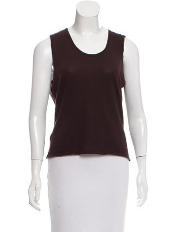 Hawick Cashmere Sleeveless Top w/ Tags None