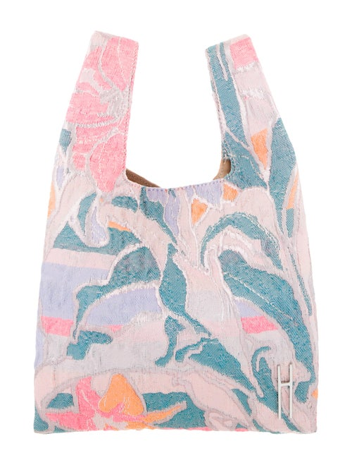 Hayward Psychedelic Jacquard Mini Shopper Pink