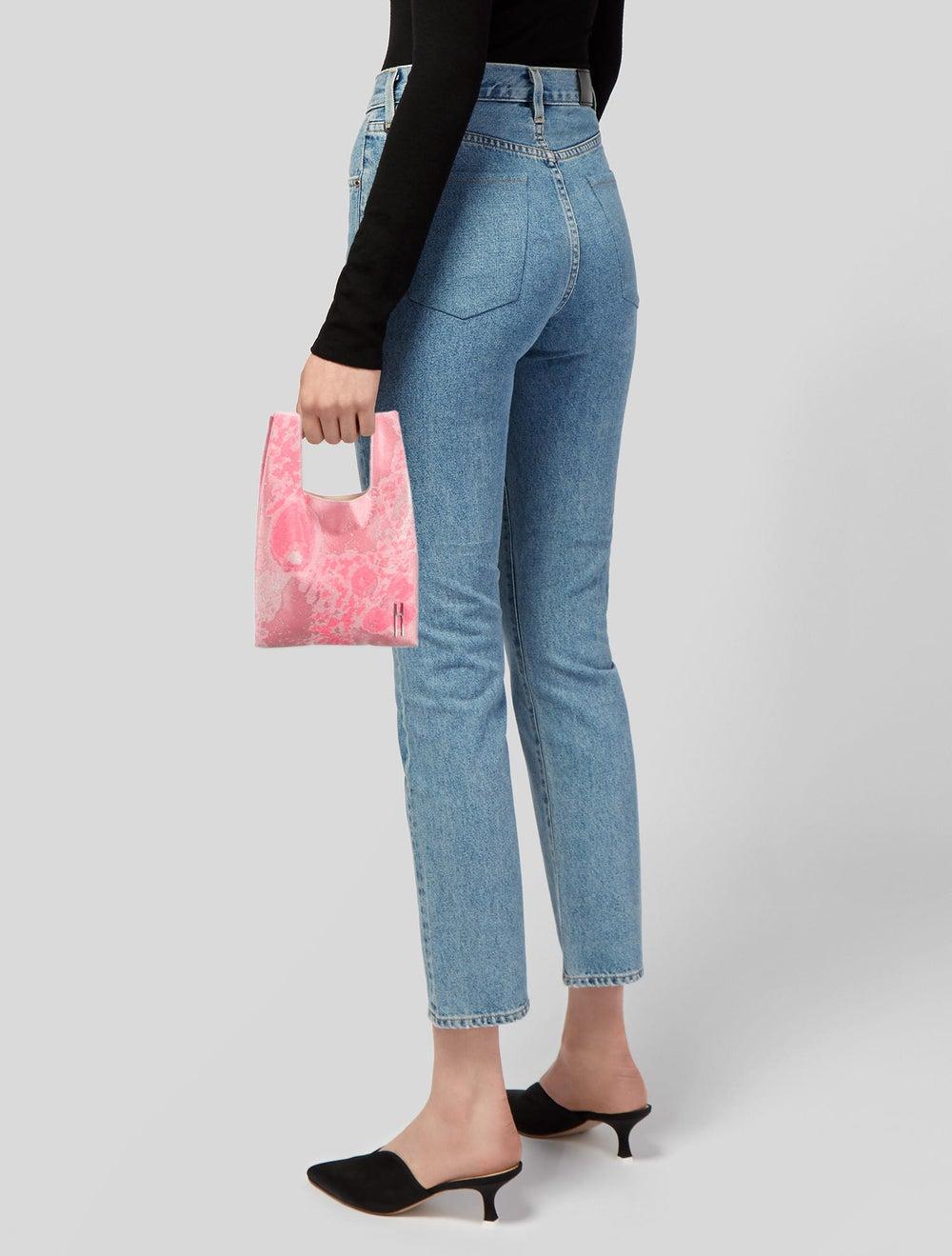 Hayward Floral Brocade Mini Shopper Pink - image 2