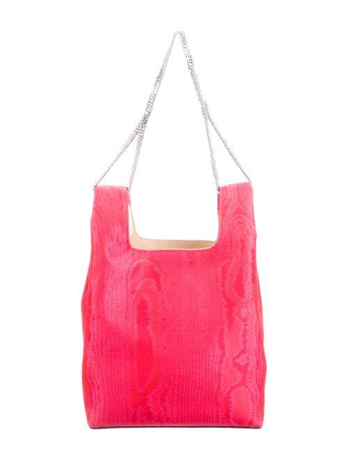 Hayward Moiré Mini Chain Bag Red