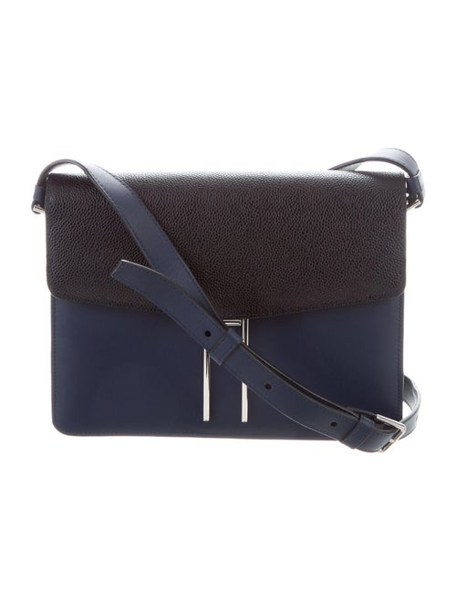Hayward Leather Crossbody Bag Blue