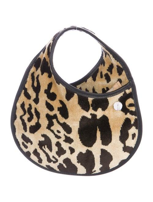 Hayward Velvet Mini Bag Brown
