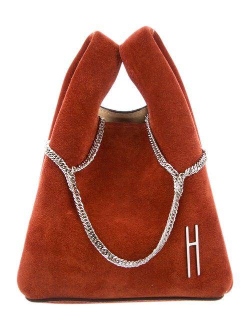 Hayward Suede Mini Shopper Orange