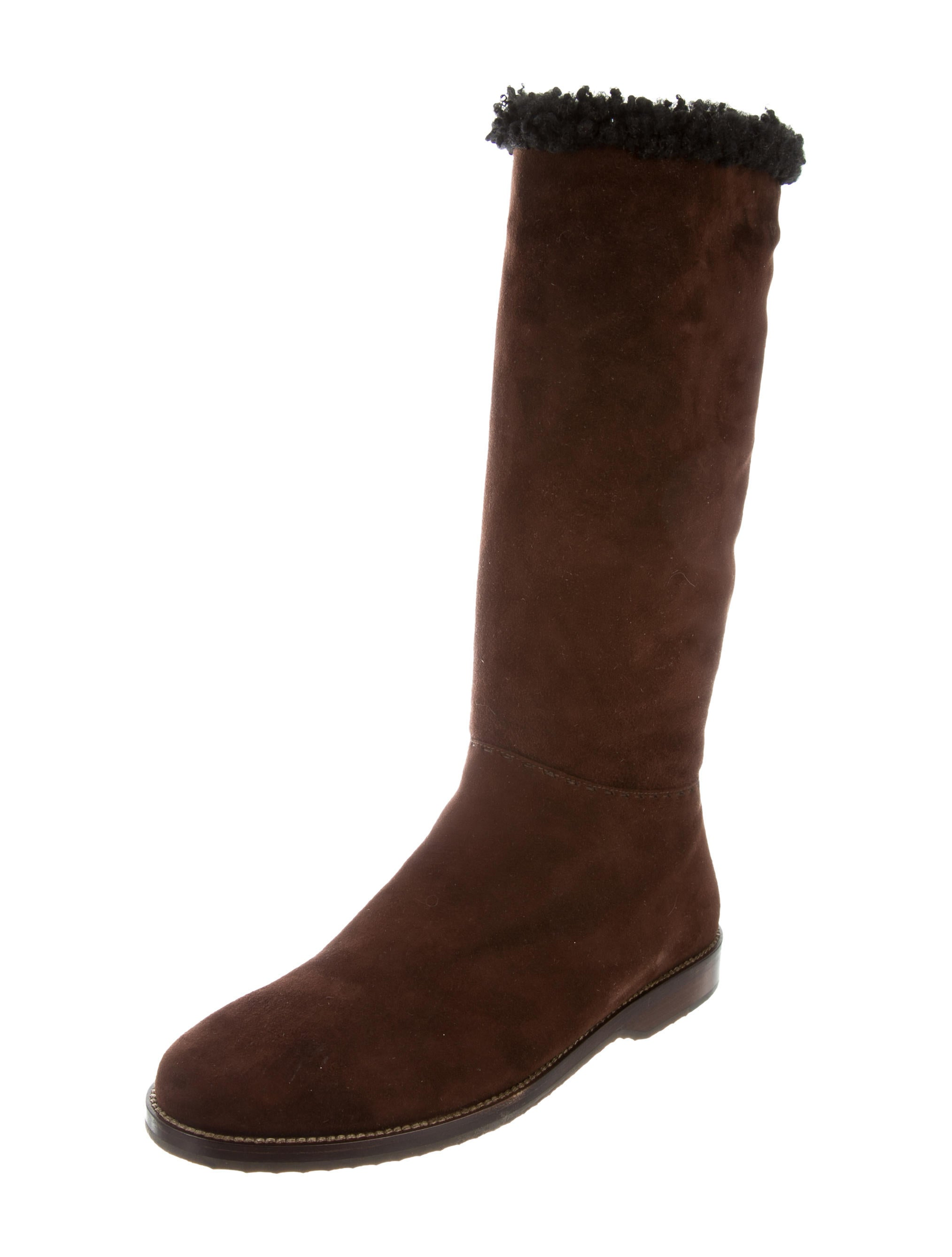 outlet new Henry Cuir Suede Knee-High Boots low price fee shipping for sale cY1KZN