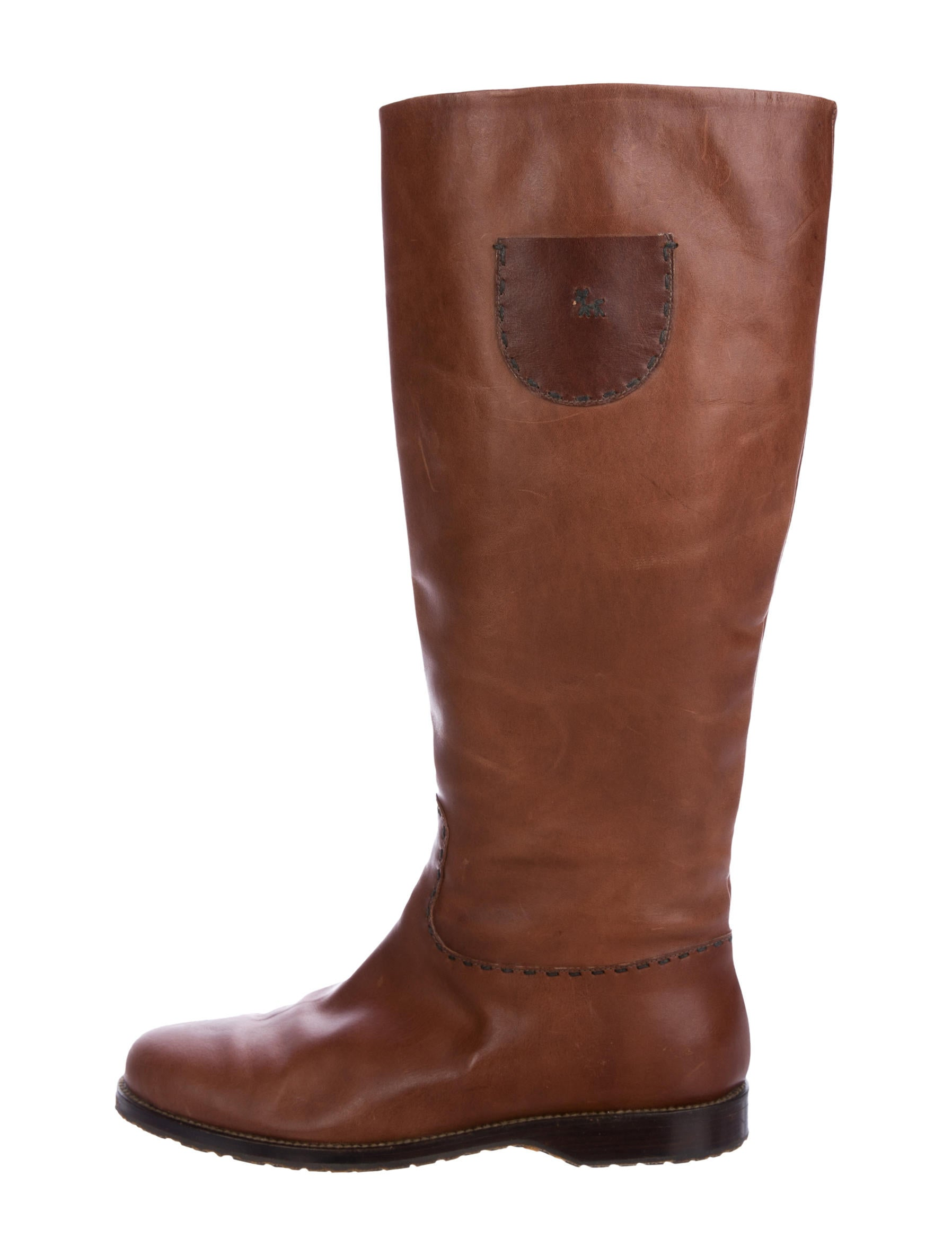 outlet from china Henry Cuir Leather Knee-High Boots shop for cheap price with credit card for sale cheap outlet store outlet enjoy UbwaG