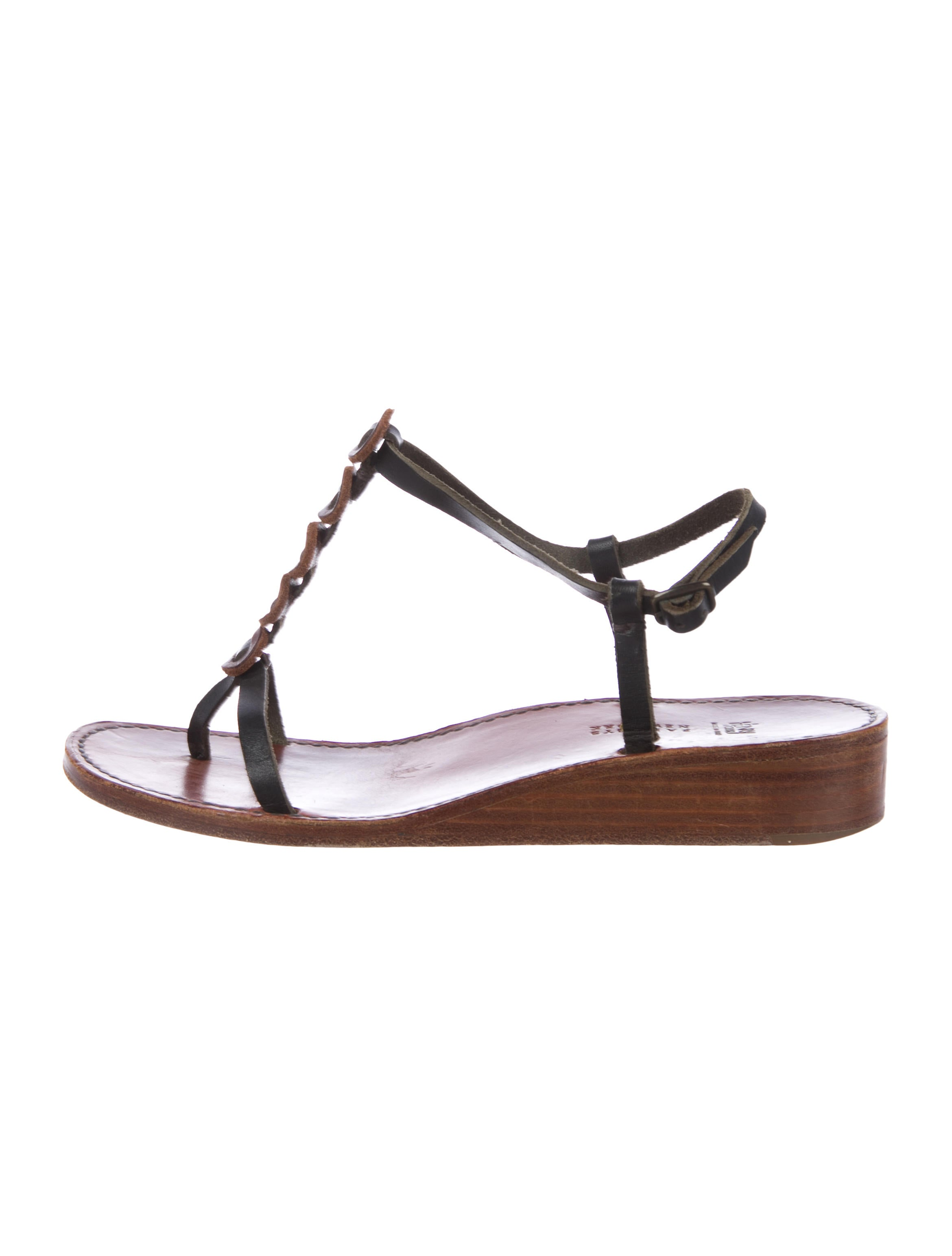 free shipping cheap Henry Cuir Leather Ankle Strap Sandals cheap sale outlet store clearance discount enjoy 8C2RPO6Y