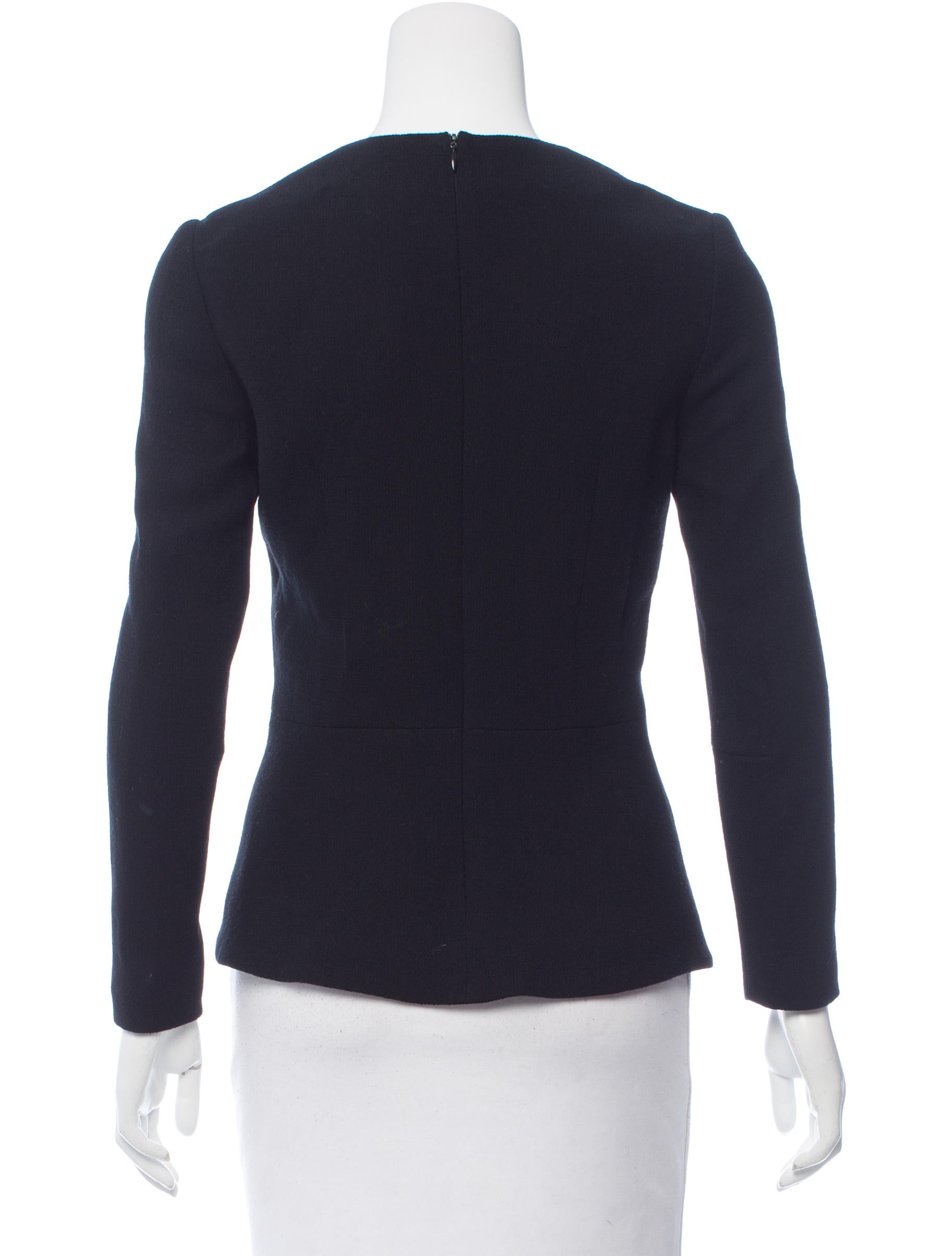 Hellessy wool zip up top clothing helle20126 the for Best wool shirt jackets