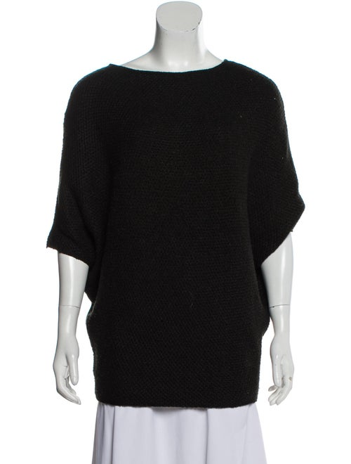 Hellessy Silk Dolman Sweater Black