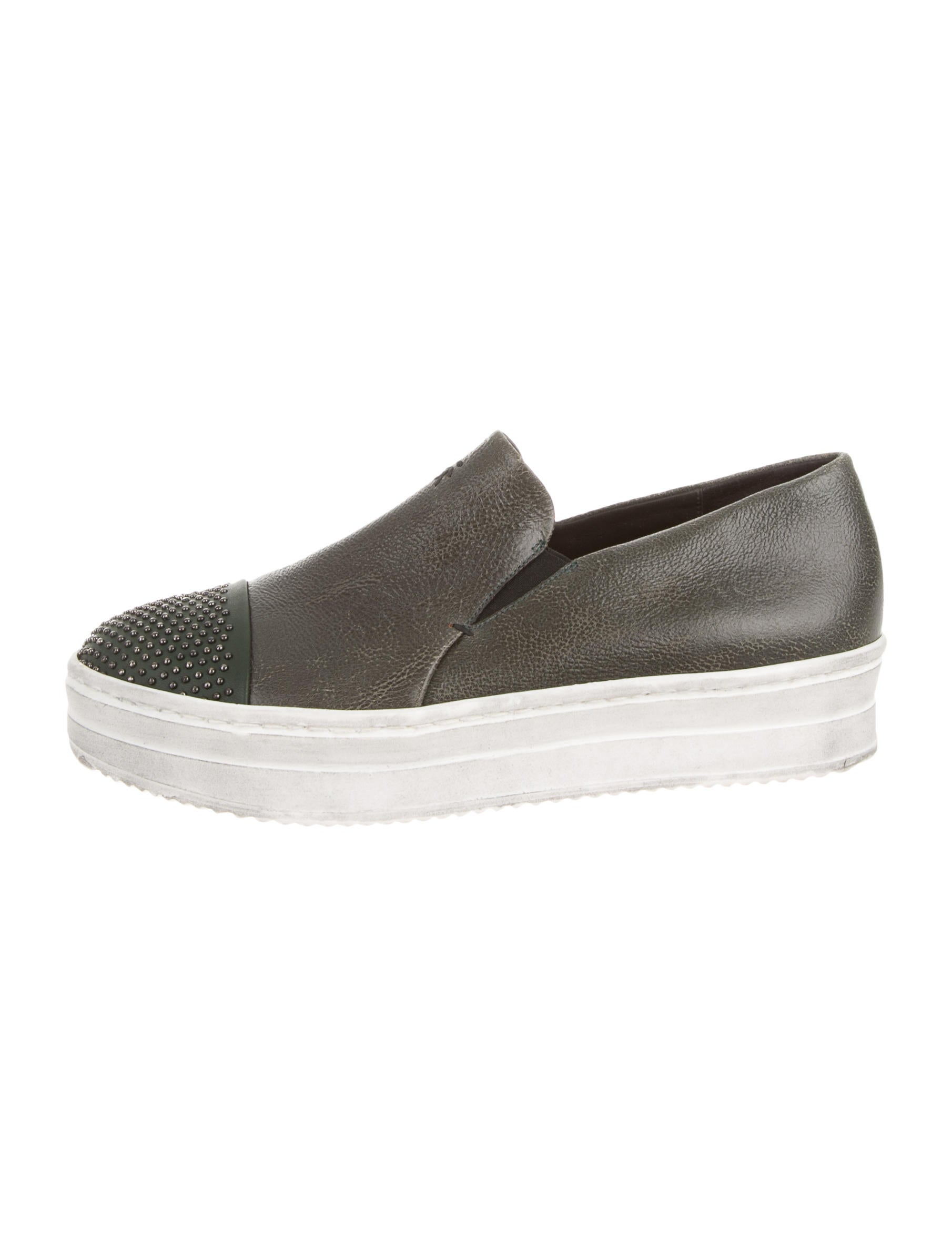 pictures online Henry Beguelin Leather Slip-On Sneakers w/ Tags cheap online shop cheap sale Manchester zdUw6IFw