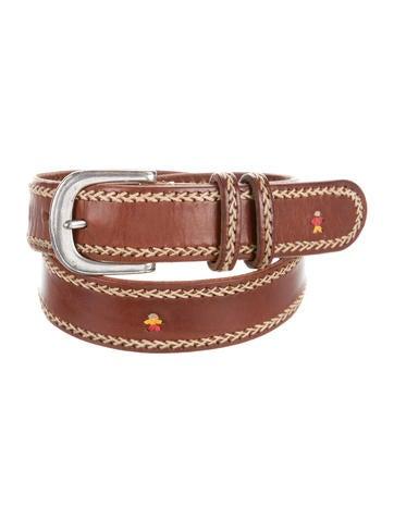 Henry Beguelin Buckle-Embellished Belt None