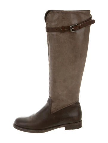 Henry Beguelin Leather Riding Boots None