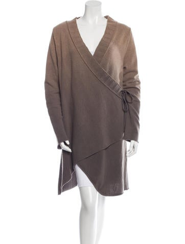 Henry Beguelin Long Sleeve Cashmere Cardigan None