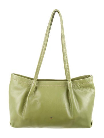 Henry Beguelin Textured Leather Tote None