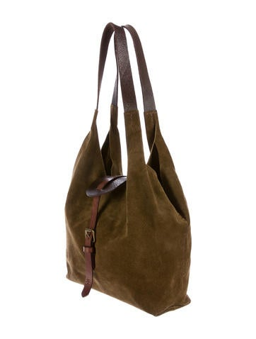 Leather & Suede Hobo