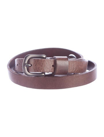 Henry Beguelin Leather Waist Belt None