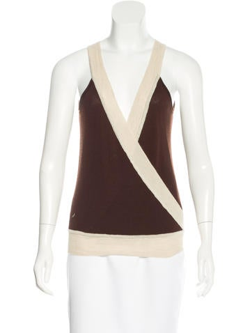 Henry Beguelin Sleeveless Cashmere Top None