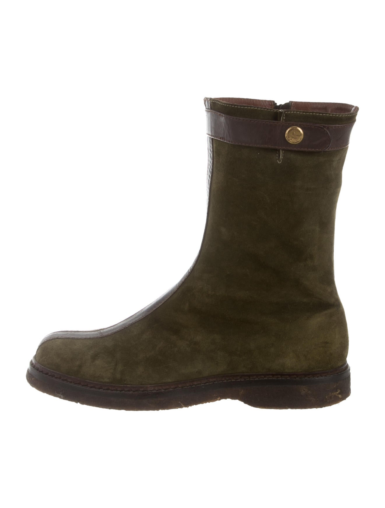 henry beguelin suede toe ankle boots shoes