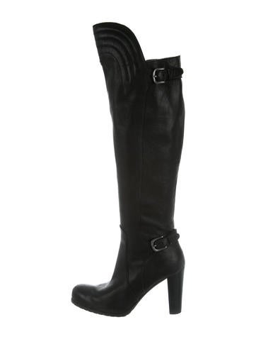 Henry Beguelin Leather Knee-High Boots None