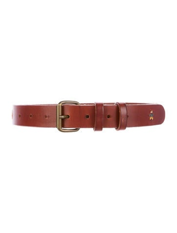 Henry Beguelin Embroidered Leather Dog Collar None