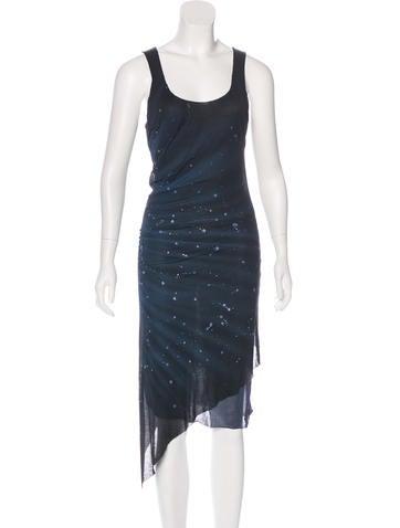 Henry Beguelin Splatter Print Maxi Dress None