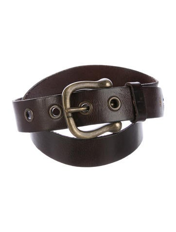 Henry Beguelin Leather Buckle Belt None