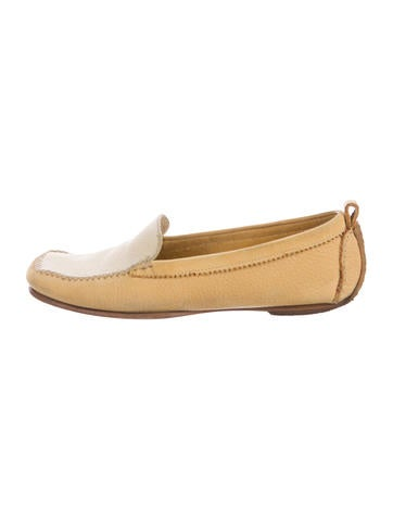 Henry Beguelin Suede Square-Toe Loafers None