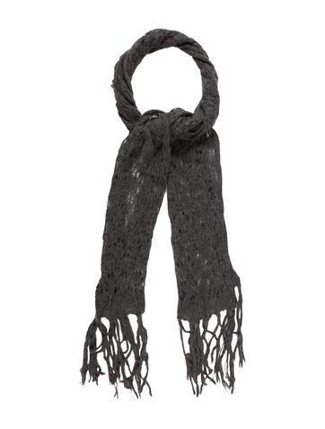 Henry Beguelin Knit Embellished Scarf None