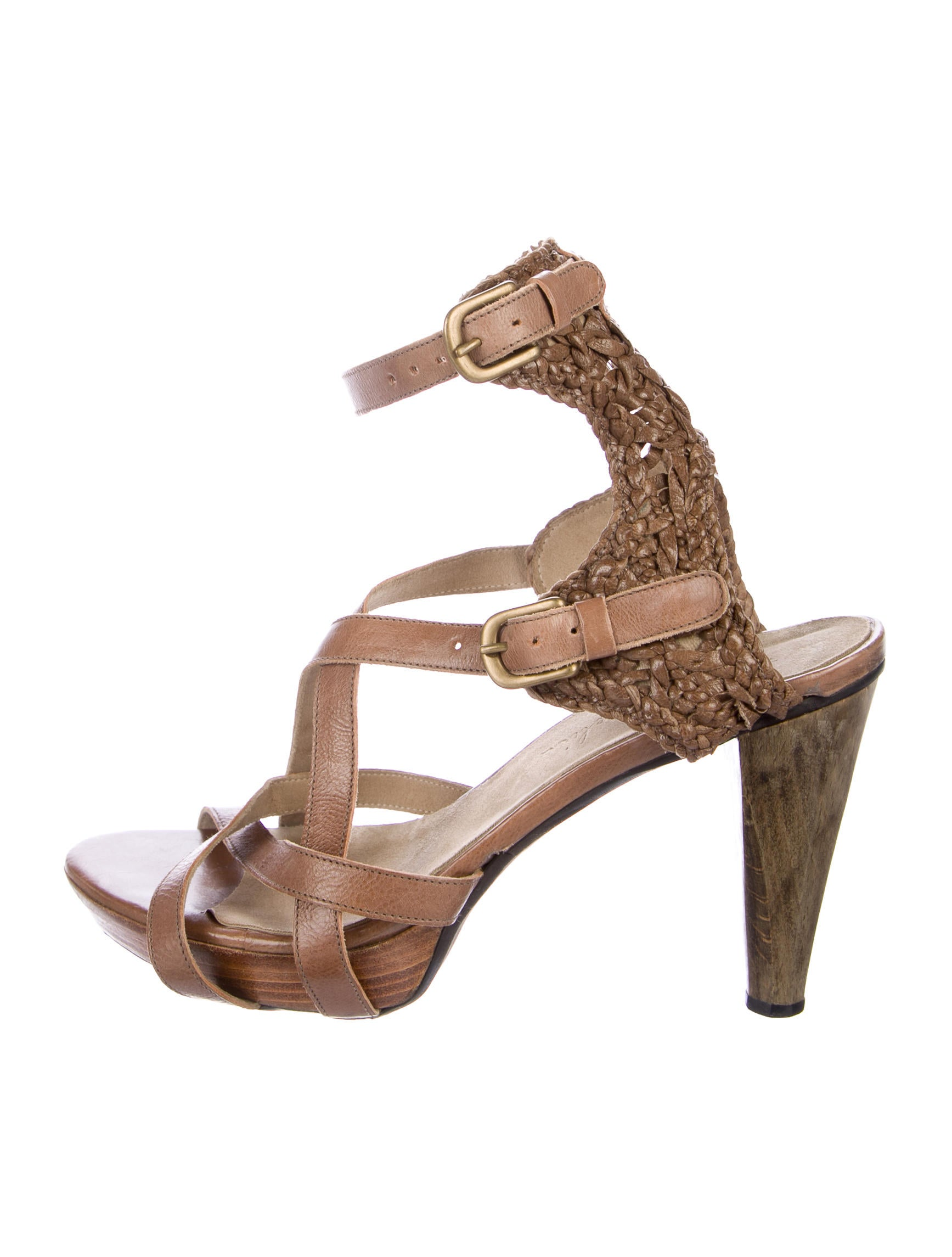 Henry Beguelin Leather Platform Sandals buy cheap hot sale clearance brand new unisex GNFLd