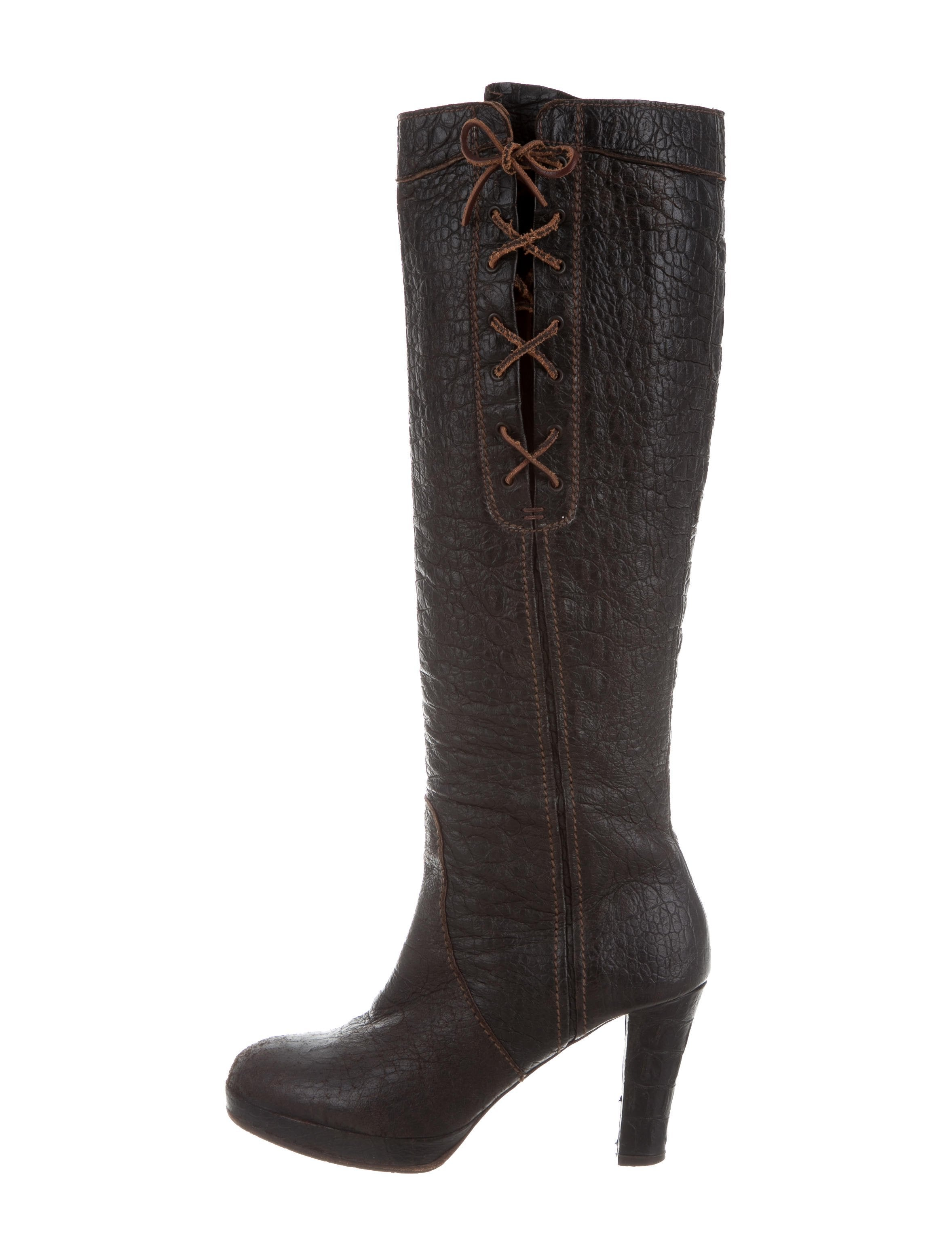 Henry Beguelin Leather Knee-High Boots w/ Tags many kinds of tjJVq