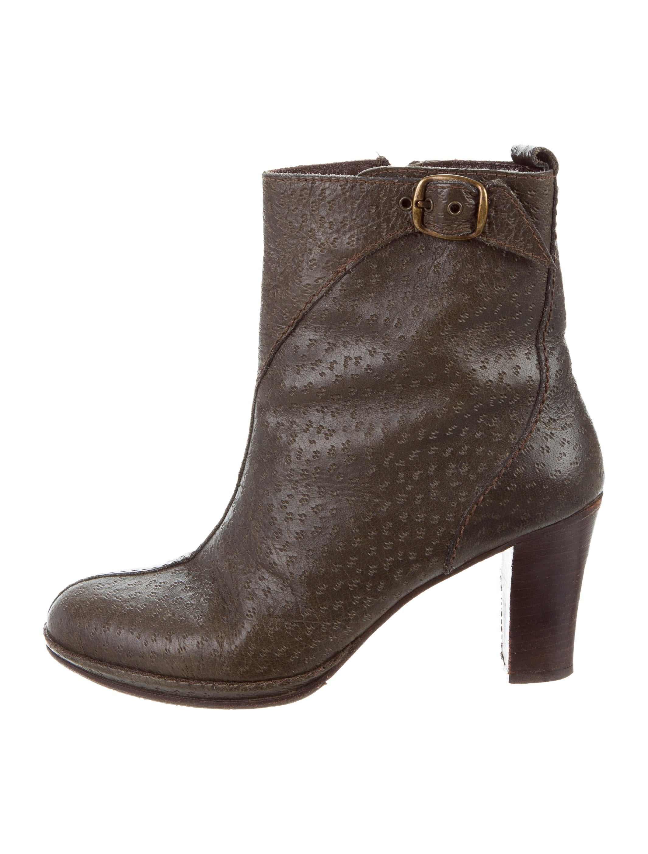 Henry Beguelin Embossed Suede Ankle Boots cheap geniue stockist buy cheap 2014 newest under $60 sale online sale for nice outlet cheap prices 0a50p4d5