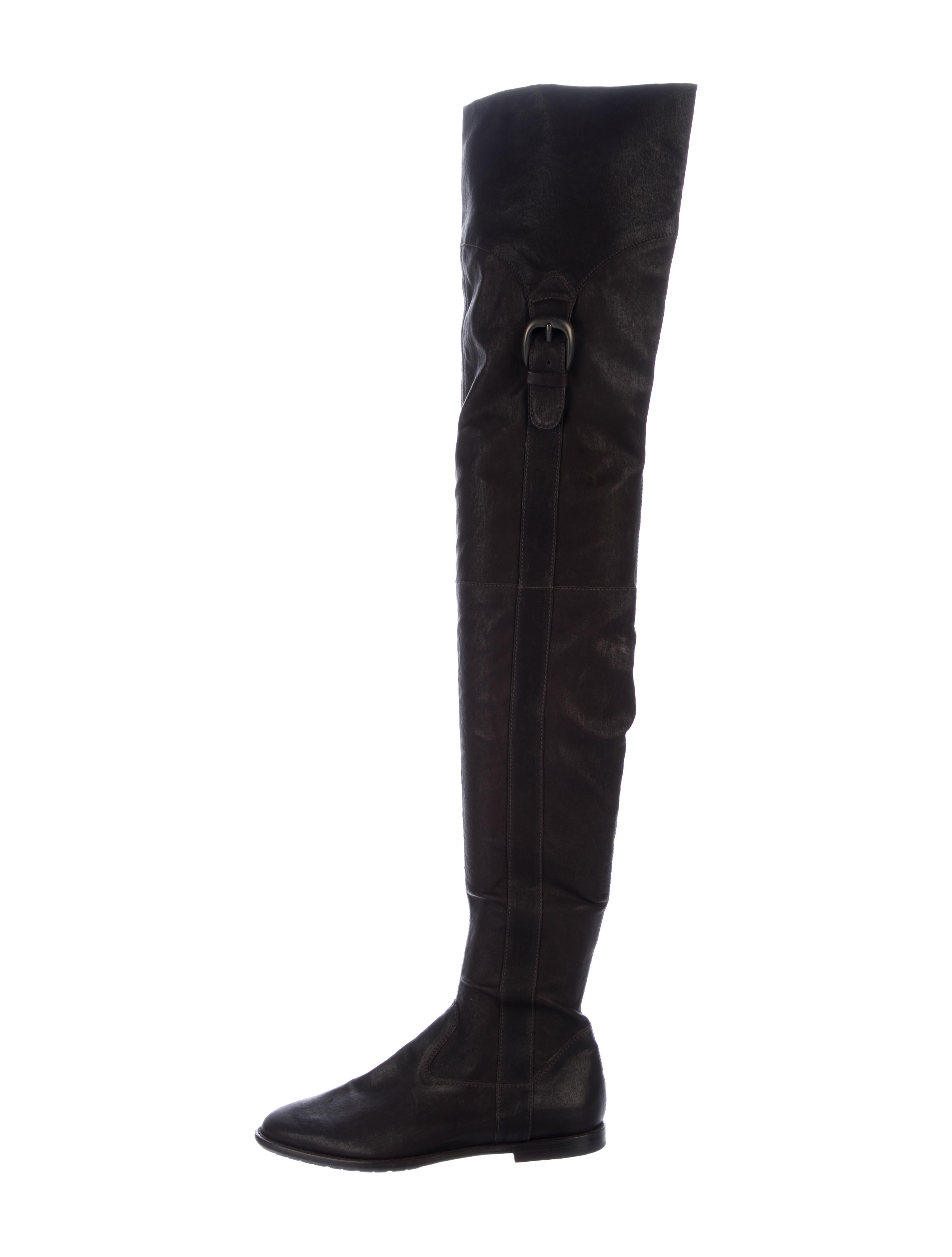Henry Beguelin Leather Knee-High Boots w/ Tags 2014 newest online cheap sale eastbay 3hbwETQk