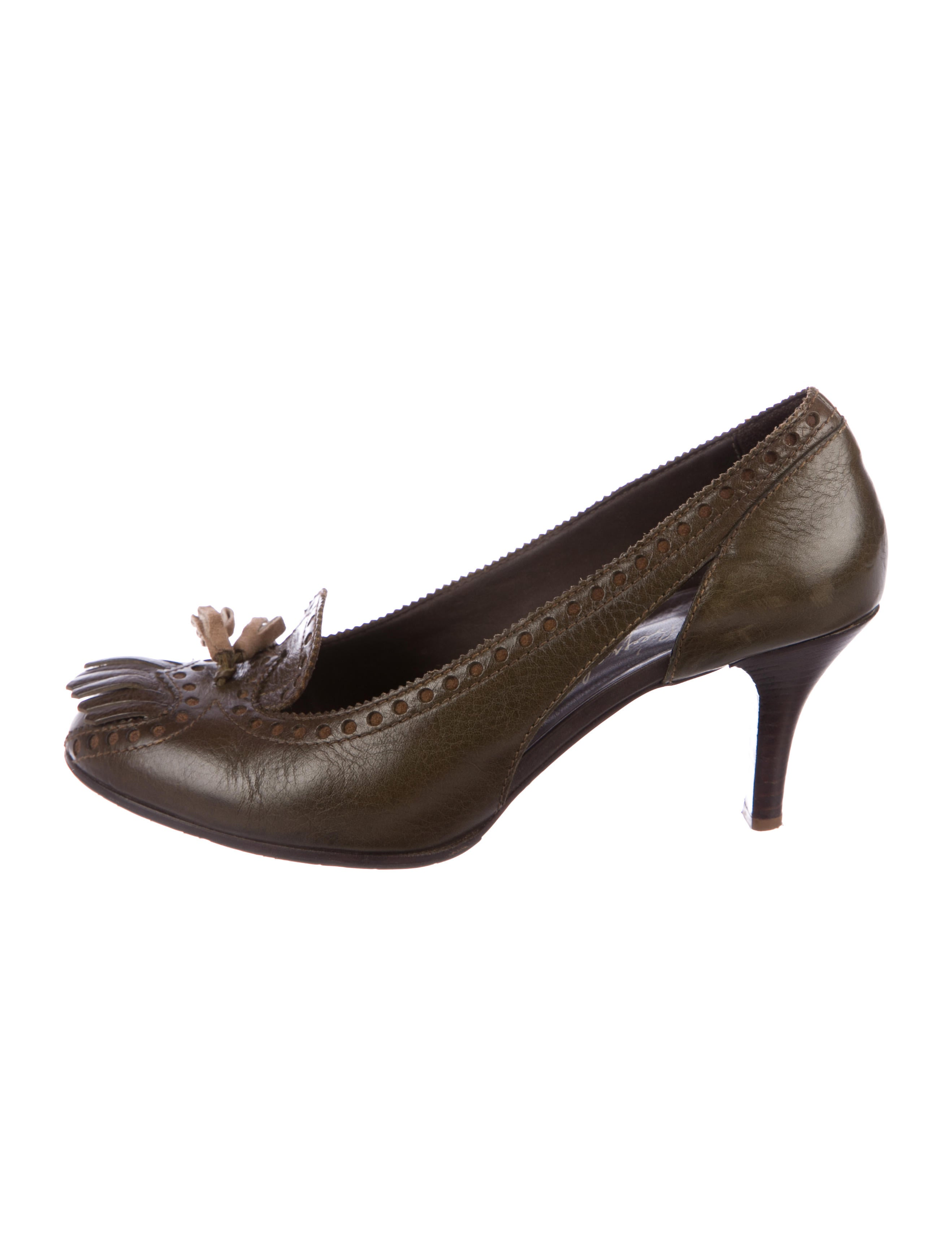 Henry Beguelin Leather Round-Toe Pumps discount geniue stockist find great very cheap sale online clearance official site footaction PdlvgSDyny