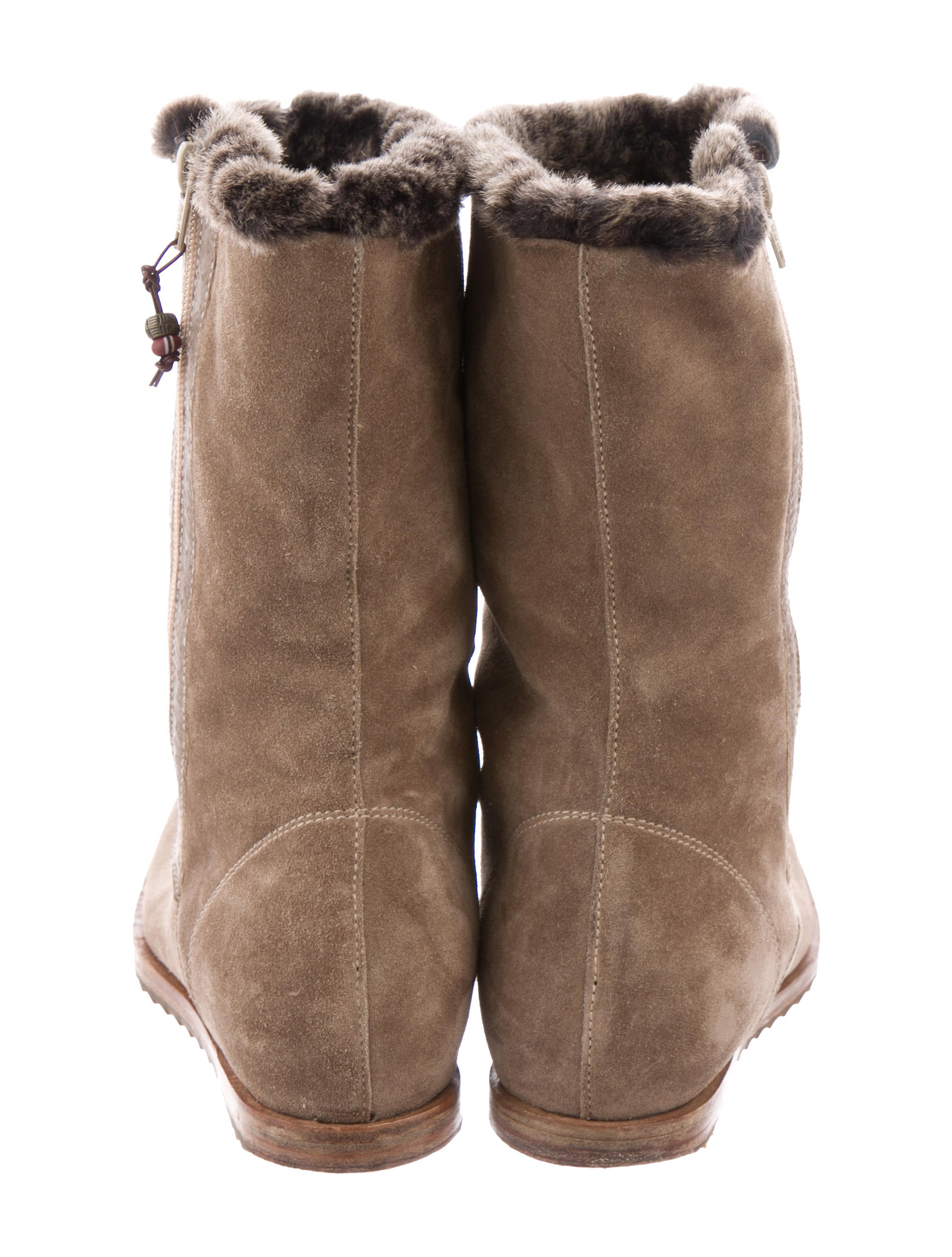 Henry Beguelin Faux Fur Suede Boots nicekicks sale online discount find great 100% authentic online free shipping with credit card free shipping pictures nWBOO